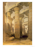 Hall of Columns  Karnak  from Egypt and Nubia  Vol1