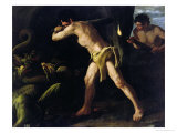 Hercules Fighting with the Lernaean Hydra  c1634