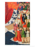 The Coronation of the Virgin  Completed 1453