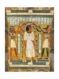 Libation of the Dead  Interior of the Sarcophagus of Amenemipet  Priest of the Cult of Amenophis