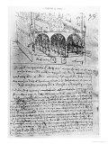 Studies For Stables  Paris Manuscript  c1487-90
