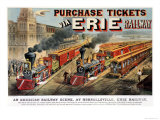 The American Railway Scene at Hornellsville  Erie Railway
