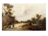 Landscape with Travellers