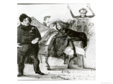 Galop Chromatique Caricature of Luigi Lablache  Franz Liszt