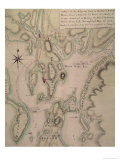Military Plan of the North Part of Rhode Island  1778