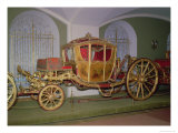 Berlin Carriage of Empress Catherine II  Painted Panels  St Petersburg  1769