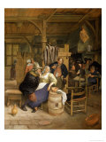 Tavern Interior with Card Players