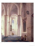 The Interior of the Buurkerk at Utrecht  1644
