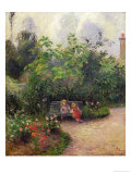 Corner of the Garden at the Hermitage  Pontoise  c1877