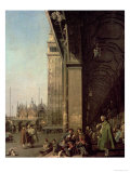 Venice: Piazza Di San Marco and the Colonnade of the Procuratie Nuove  c1756