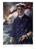 Admiral Sir John Jellicoe  Illustration from Told in the Huts: The YMCA Gift Book  Published 1916