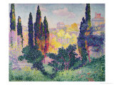 The Cypresses at Cagnes  1908