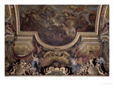 Ceiling Painting of the Passage on the Rhine in the Presence of the Enemies 1672