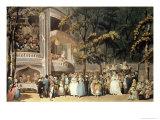 Vauxhall Gardens from Ackermann's Microcosm of London  1809