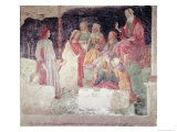 Young Man Greeted by Seven Liberal Arts  from the Villa Lemmi