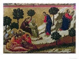 Maesta: Agony in the Garden of Gethsemane  1308-11