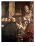 St Ignatius Receiving the Papal Bull of the Foundation of the Company of Jesus