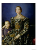 Portrait of Eleanor of Toledo and Her Son  Giovanni de Medici  c1544-45