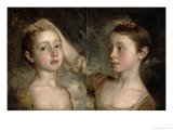 The Painter's Daughters Mary and Margaret  c1758