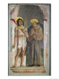 St John the Baptist and St Francis of Assisi