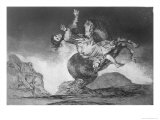 Abducting Horse  Plate 10 of Proverbs  c1819-23