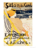Poster Advertising the Exposition Internationale D'Affiches  Paris  c1896
