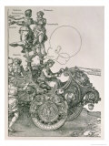 The Great Triumphal Chariot of Emperor Maximilian I  Planned by Willibald Pirckheimer  c1518