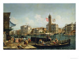 The Canal Grande and S Geremia  Venice