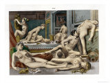 Ancient Times  from De Figuris Veneris by FK Forberg  Engraved by the Artist  1900