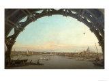 London Seen Through an Arch of Westminster Bridge  1746-7