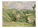 Auvers-Sur-Oise  Seen from the Val Harme  1879-82