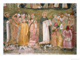 The Church Militant and Triumphant  Thomas and Peter Confuting the Heretics  Spanish Chapel C1369