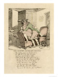 The Country Squire's New Mount  Poem and Illustration  1808-17