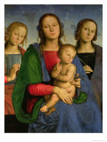 Madonna and Child with St Catherine and St Rosa  1493