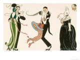 Madness of the Day  Engraved by H Reidel For Friends of the Journal Des Dames et Des Modes  1913