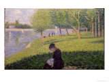 Seamstress  Grande Jatte  A Sunday Afternoon on the Island of La Grande Jatte  c1884-6