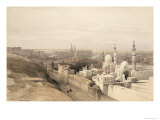 Cairo Looking West  from Egypt and Nubia  Vol3