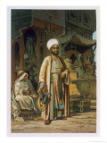 The Barber  from Souvenir of Cairo  c1862