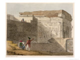Triumphal Arch  Tripoli  Plate 4 A Narrative of Travels in Northern Africa  Engraved by G Harley