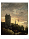 Landscape with a Tower