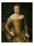 Portrait of the Artist's Mother  Bianca Ponzoni Anguisciola  1557