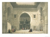 Interior of the Mosque of Sultan Hasan  Cairo  from Egypt and Nubia  Vol3