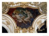 Psyche and Cupid  Ceiling Panel from the Salon de La Princesse