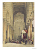 Interior of the Mosque of the Metwalys  Cairo  from Egypt and Nubia  Vol3