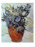 Still Life with Thistles  1890