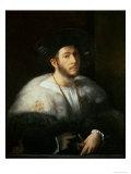 Portrait of a Man  Possibly Cesare Borgia