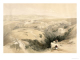 Bethlehem  April 6th 1839  Plate 85 from Volume II of The Holy Land  Engraved by Louis Haghe