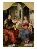St Luke Painting the Virgin  c1545