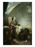 The Poverty-Stricken Family  or the Suicide  1849