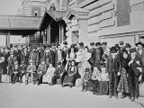 New Immigrants on Ellis Island  New York  1910
